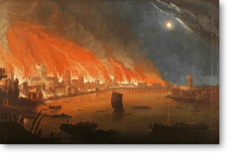 Woking DFAS Lecture: The Great Fire Of London 1666 (350th Anniversary)